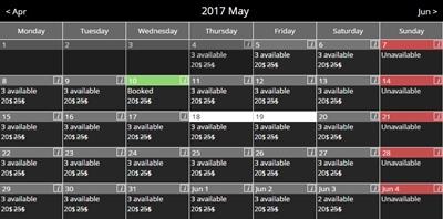 WordPress Booking Calendar plugin   WpDevArt com